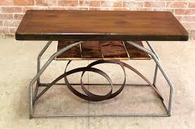coffee tables beautiful coffee table half moon abstract steel