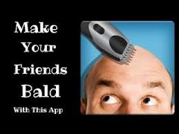 make me bald apk make me blad app gives pics are make someone bald app
