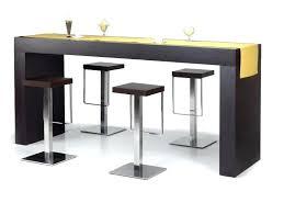 table bar de cuisine ensemble table bar table haute style industriel chaise de bar