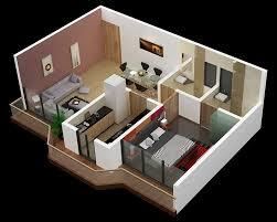 e Bedroom Apartment Design Model