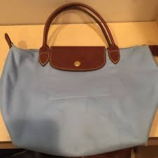bag with light inside light blue longch le pliage longch brown leather and small bags