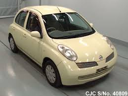 2003 nissan march yellow for sale stock no 40809 japanese
