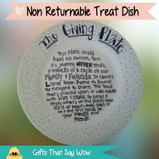 Halloween Friendship Poems Gifts That Say Wow Fun Crafts And Gift Ideas Giving Plate With Poem