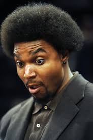 pacers center andrew bynum got a haircut at halftime for the win
