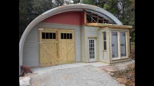 arched cabins arched metal building youtube