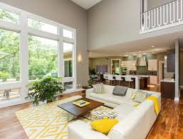 Windows Family Room Ideas Magnificent White Sectional Sofa Look Other Metro Contemporary