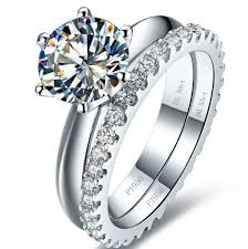 diamond rings aliexpress images Buy 1ct famous jewelry synthetic diamonds ring jpg