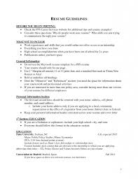 What Should Be Resume Title Resume Education Section Major Minor