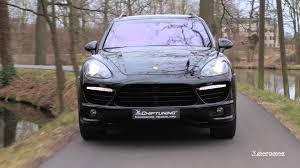 2005 Porsche Cayenne Turbo - porsche cayenne turbo 958 with akrapovic exhaust revs u0026 tuning