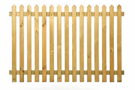 picket fencing rounded u0026 pointed topped picket fence