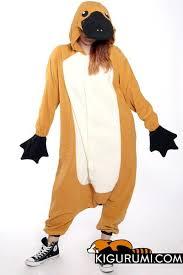 Beaver Halloween Costume Platypus Kigurumi Onesie