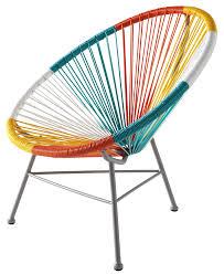 fauteuil de la maison fauteuil multicolore copacabana by maisons du monde la déco décodée