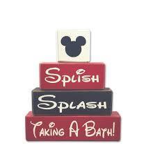 Mickey And Minnie Bathroom Mickey Mouse Bathroom Decor Splish Splash Taking A Bath U2022 Apple