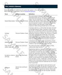Used Vehicle Bill Of Sale Template report autocheck autodna
