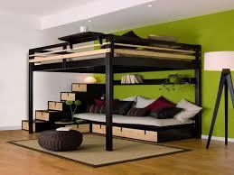 lit superposé avec canapé rangement de lit with rangement de lit fabulous lit