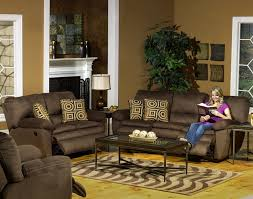 fabric recliner sofas durango reclining sofa in cocoa color fabric by catnapper 1841