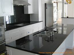 kitchen cabinets with granite top india china honed india absolute black granite kitchen countertops