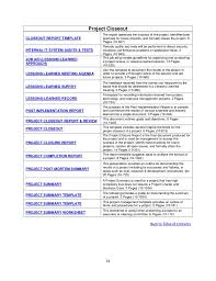 post mortem project template project planning how to write a