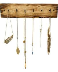 necklace organizer images Hot sale rustic necklace holder rustic jewelry rack wall jewelry