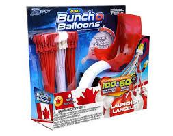 bunch of balloons zuru canada day bob bunch o balloons launcher walmart canada