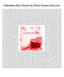 valentines day party games free printable games and activities