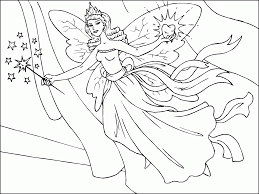 fairy coloring pages free printable coloring home