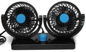 usb powered car fan 10 best 12v car fans for dashboard or windscreen fixing