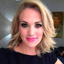 hairstyles from nashville series carrie underwood has a brand new haircut see her lob style