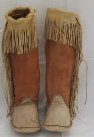 womens ugg moccasin boots apache style moccasins pinteres