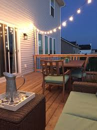 Diy Patio Lights by All The Pretty Things Diy How To String Globe Lights On Your Patio