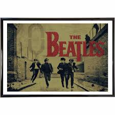 online get cheap vintage running posters aliexpress com alibaba running the beatles vintage modern poster art wall pictures silk fabric printed painting room decoration home decor no frame
