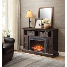 Media Console Furniture by Whalen Media Fireplace Console For Tvs Up To 55