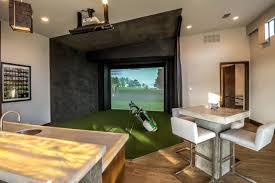 Home Golf Simulator by Photo Page Hgtv