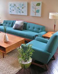 Teal Living Room Chair by Adrian Pearsall Sofa Couch Chairs Mid Century Modern Vintage