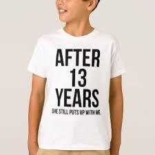13th anniversary ideas married kids shirts married kids teesmarried