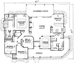 single story floor plans single story house plans for retirement home deco plans
