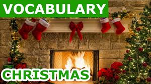 christmas vocabulary learn english vocabulary with pictures