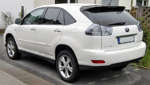 lexus rx400h tax file lexus rx 400h rear jpg wikimedia commons
