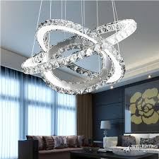 Galaxy Chandelier Modern Circles Led Ring Chandelier Pendant L Suspension