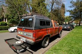 Ford Ranger Truck Rack - old parked cars 1987 ford ranger xlt