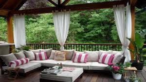 pool decorations outdoor porch curtains ideas hgtv porch ideas