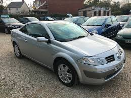 renault megane 2006 used renault megane convertible for sale motors co uk