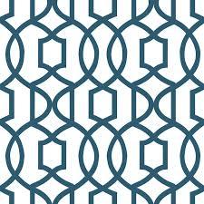 nuwallpaper grand trellis peel u0026 stick wallpaper grey u0026 navy wall