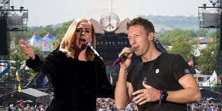 apple martin and chris martin glastonbury weather forecast will it be rain or sunshine at the