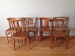 chaise pas cher lot de 6 chaise chaise bistrot bois lot 6 chaises bistrot bois 50