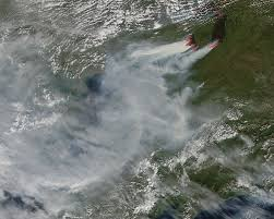 Wild Fires In Canada Bc by Canadian Wildfires Burning In Yukon Territory Nasa