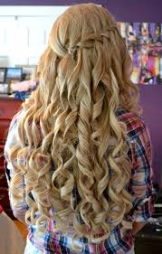 long curly hairstyles for prom billedstrom com