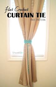Diy Curtain Tiebacks Curtain Tiebacks Newbedroom Club
