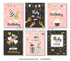 many stock birthday party invitation card vector creation birthday invitation stock images royalty free images vectors