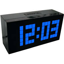 ivation clock large display digital wall clock uk 12 000 wall clocks